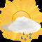 Intervalli di nuvole con pioggie debole
