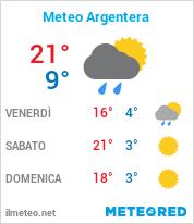 Meteo Argentera